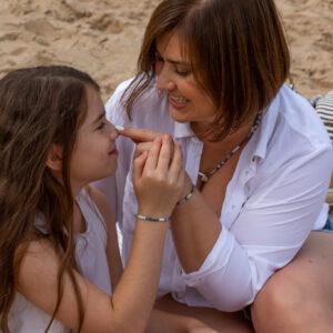 Zestaw dla mamy i córki Blue Lagoon